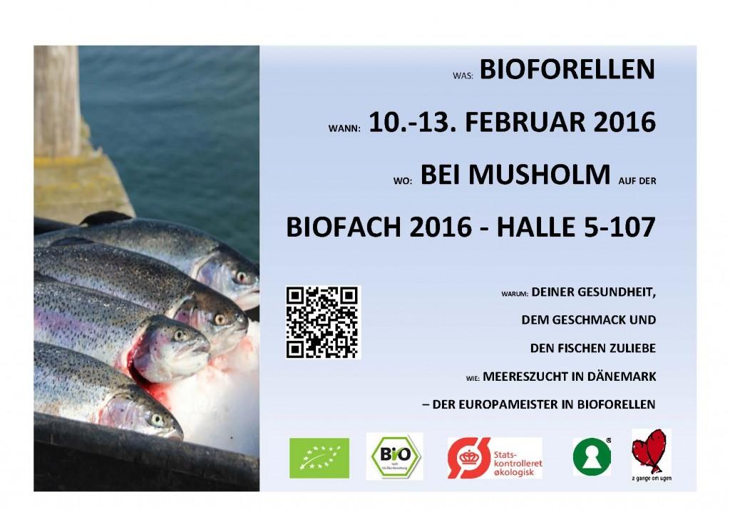 BIOFACH BIOFORELLEN 2016
